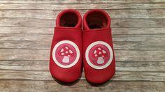 Schuhe - Lederpuschen Gr. 22/23 - ein Designerstück von Frau-Naehpaenz bei DaWanda
