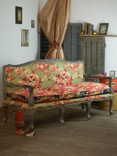 Vintage Harvest Couch | Home Decor, Furniture - New! :Beautiful Designs by April Cornell