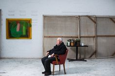 A brush with Howard: inside Hodgkin's studio - in pictures