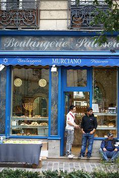 Boulangerie bleue
