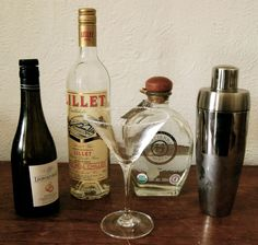 Yum - new marg to try (sotol, lillet, orange liqueu, lime juice