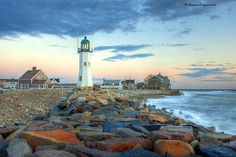 Scituate Lighthouse - Scituate Harbor, MA