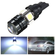 T10 Car LED Auto Lamp 5W-12V Light Bulbs With Bifocal Lens White Light  Worldwide delivery. Original best quality product for 70% of it's real price. Buying this product is extra profitable, because we have good production source. 1 day products dispatch from warehouse. Fast & reliable...