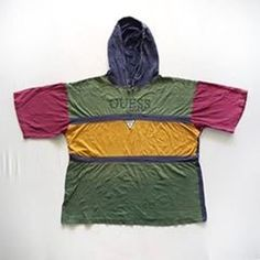 Vtg 90s GUESS Jeans Triangle Logo Spell Out Striped Multicolor Hoodie Hip Hop http://ift.tt/2cMEFHq? #Vintage #Vtg90s #GUESS #Jeans #Triangle #Logo #SpellOut #Striped#Multicolor #Hoodie #HipHop #Rap #ASAP #Rocky