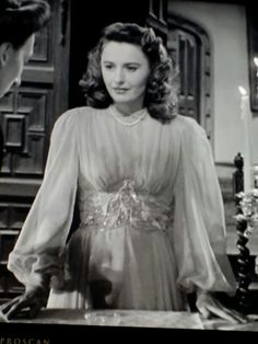 Barbara Stanwyck in The Two Mrs Carrolls 1945.....Uploaded By www.1stand2ndtimearound.etsy.com
