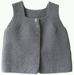 Citronille - gilet des estives Citronille (France) has the cutest sewing and knitting patterns on her website! Baby Boy Knitting, Knitting For Kids, Baby Knitting Patterns, Crochet Baby, Knit Crochet, Kids Vest, Baby Sweaters, Baby Dress, Dress Vest