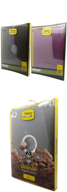 computers: New Oem Otterbox Defender Series Case Cover For Ipad Air 2 Rugged Kick Stand -> BUY IT NOW ONLY: $31.45 on eBay!