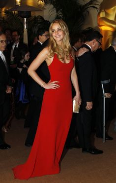 Jennifer Lawrence GORGEOUS red dress (may have pinned before, but it's too beautiful not to share)