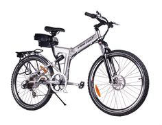 NEW 2015 X-Cursion Folding Electric Bicycle - Lithium Powered SUPER SALE THRU FEB 26 from AutomatedCycle.com
