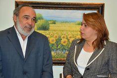 Francisco Pagán y Laura Guerrero P.