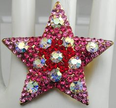Bright Star Statement Cocktail by victoriascharms on Etsy