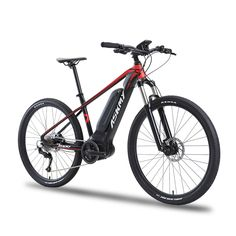 26x17 Inch Electric Mountain Bike Oil Hydraulic Disc Brake Lockable Shock Front Fork Bafang Front Drive Motor Smart Sensor Ebike Cheap Sales Cycling Bicycle