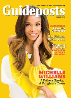 Singer Michelle Williams' father had suffered a massive stroke and though the doctors had all but given up on him, Michelle and her family had not. Read her story from the August edition of Guideposts: http://www.guideposts.org/faith/stories-of-faith/a-miraculous-tap-of-the-toe?utm_source=Pinterest&utm_medium=GP&utm_campaign=MichelleWilliams07.29.14