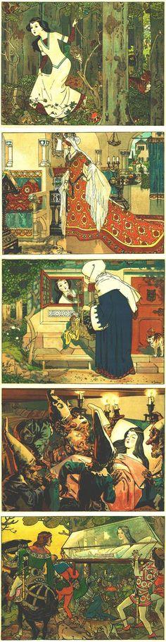 Franz Jüttner's Snow White