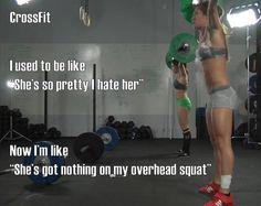 CrossFit changes women's perceptions of beauty.