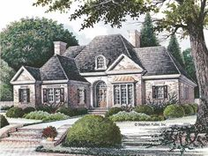 French Country House Plan With 2160 Square Feet And 3 Bedrooms From Dream  Home Source |