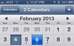 6 Tips and Tricks to help you get the most out of the built-in Calendar App on iPhone, iPad (Mini), and iPod Touch