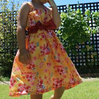 paper free download Summer Dress (SIZE 100.110.120)
