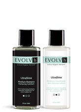 UltraShine Shampoo & Conditioner (Travel Size).  Great way to try and/or travel with.