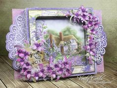 Just a Note - Verity Cards - created w/ the Lush Lilac Collection from #HeartfeltCreations #cardmaking #papercrafts #thinkingofyou #anyoccasion