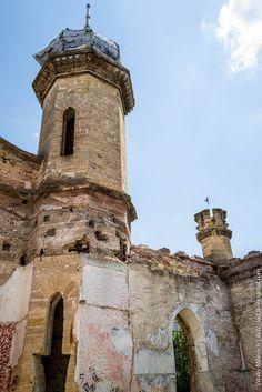 Abandoned Moorish palace near Odessa, Ukraine, photo 13