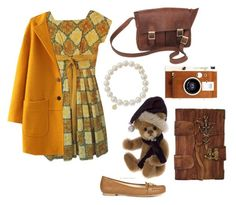 Brown Vintage by karenflores104 on Polyvore featuring polyvore fashion style Vintage Michael Kors NOVICA Sydney Evan LØMO vintage women's clothing women's fashion women female woman misses juniors