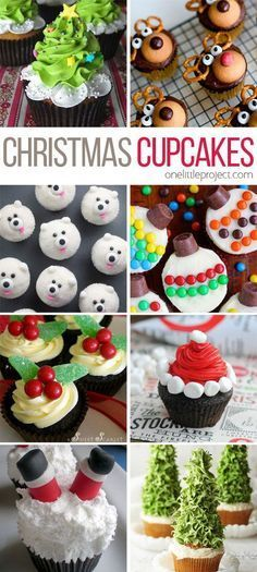 30 easy christmas cupcake ideas wreaths chocolate and 30th 30 easy christmas cupcake ideas solutioingenieria Image collections