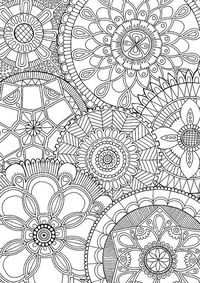Family Mandalas - Colour with Me HELLO ANGEL - coloring, design, mandala, detailed, meditation, coloring for grown ups
