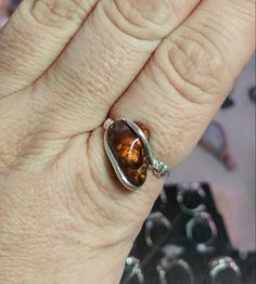 New in our shop! Rare Gemstone Ring | Fire Agate Ring | Handmade Sterling Silver Ring Sz 11 | Mexican Fire Agate... https://www.etsy.com/listing/386349672/rare-gemstone-ring-fire-agate-ring?utm_campaign=crowdfire&utm_content=crowdfire&utm_medium=social&utm_source=pinterest