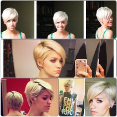Pixie Cut. I would love to do this.