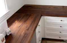 EnGrain Wood Countertops: gorgeous wood countertops with permanent oil finish.