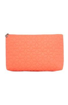Primark - Coral Quilted Make Up Bag £4