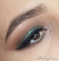 Maquiagem verde!
