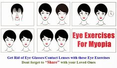 Correct Myopia (Near-sightedness) with Eye Exercises   Improve Eyesight Naturally