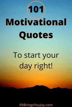 Enjoy a collection of motivational quotes to help start your day with a positive attitude. Inspiration to kickstart your positivity to have a great day. Daily quotes of encouragement to live life to its fullest. #quotes Great Day Quotes, Today Quotes, Good Night Quotes, Morning Quotes, Daily Quotes, Enjoy Your Day Quotes, Advice Quotes, Life Advice, Free Inspirational Quotes