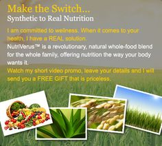 Make the Switch Synthetic to Real Food Technology Yes I Have, Have You Tried, Food Technology, Good Excuses, Health And Wellbeing, Real Food Recipes, Nutrition, This Or That Questions, My Love