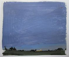 Last Light on 10 Original Summer Landscape Collage by Paintbox