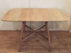 Mesa Ercol abatible años 60 / Ref: ER002 - The Nave - midcentury - wood - woodwork - madera - furniture - mobiliario - thenave - estilo - mesa - decoración - table - ercol - escandinavo - danés - inglés - nórdico