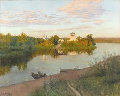 Исаак Ильич Левитан. Вечерний звон, 1892 г.