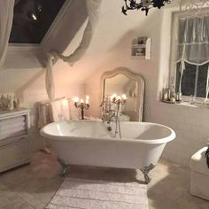 Easy Shabby Chic Style Bathroom  Plans To Consider For Your Home  |  Shabby Chic Bathroom Designs no. 1101 | #shabbychic #shabby_chic_bathroom