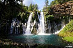 McArthur-Burney Falls, California Went camping here many, many years ago.