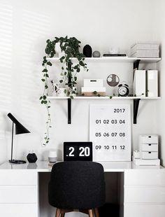 Trendy home office quarto feminino simples Ideas Home Office Space, Home Office Design, Home Office Decor, Home Interior Design, Home Decor, Office Ideas, Desk Space, Desk Areas, Ikea Office