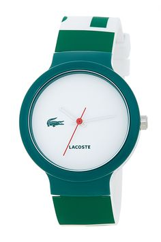 Unisex Goa Silicone Watch by Lacoste on @nordstrom_rack