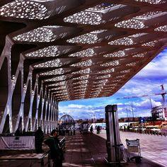 Marrakech airport roof