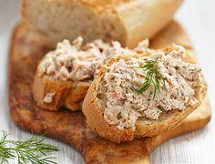 Rillettes de salmão Receita