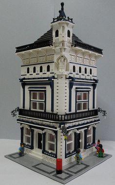 Architecture   LEGO Moc Modular Pip Corner 000   von Jotabeeeeeee