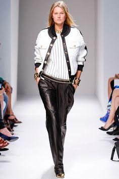 la modella mafia Balmain Spring 2014 runway collection 4