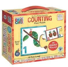 Very Hungry Caterpillar Counting Floor Puzzle