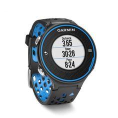 Garmin Forerunner 620 GPS Watch with HR Monitor Run-Blue Black - Blue Black