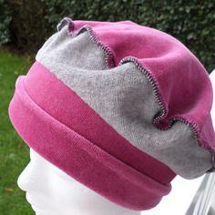 Bonnet chapeau béret velours enfant confortable unique hiver lin'eva créateur